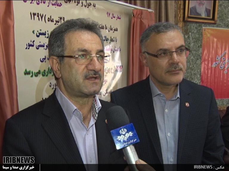 افتتاح 123 پروژه بهزیستی در استان اردبیل