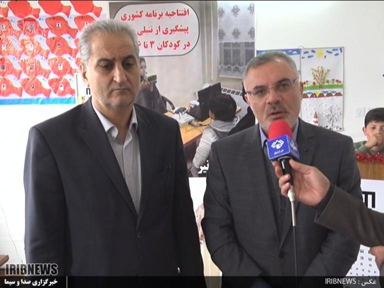 آغاز طرح بینایی سنجی کودکان 3 الی 6 سال در استان اردبیل